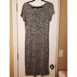 Marled Knit Midi Dress - Target